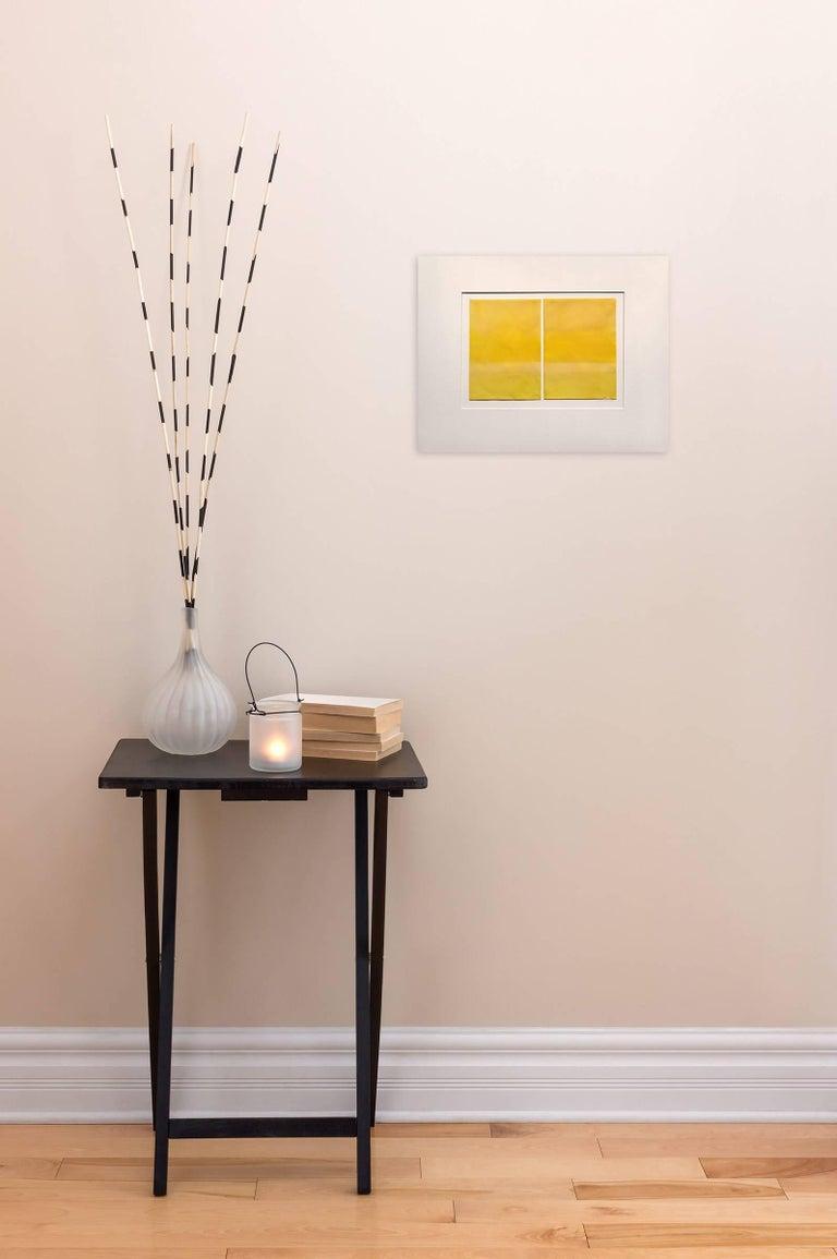Lemon Yellow - Painting by Janise Yntema