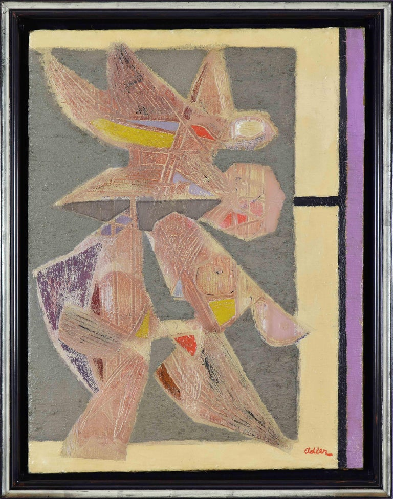 Birds - Painting by Jankel Adler