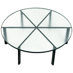 Janni Van Pelt Coffee Table with Frosted Glass