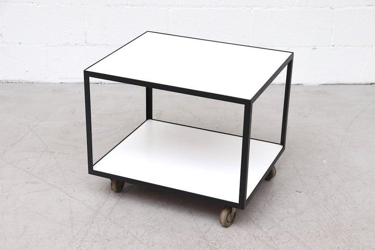 Dutch Janni Van Pelt Style Rolling Cart For Sale