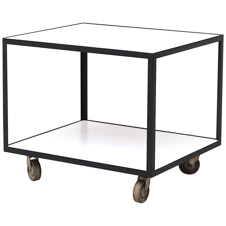 Janni Van Pelt Style Rolling Cart For Sale