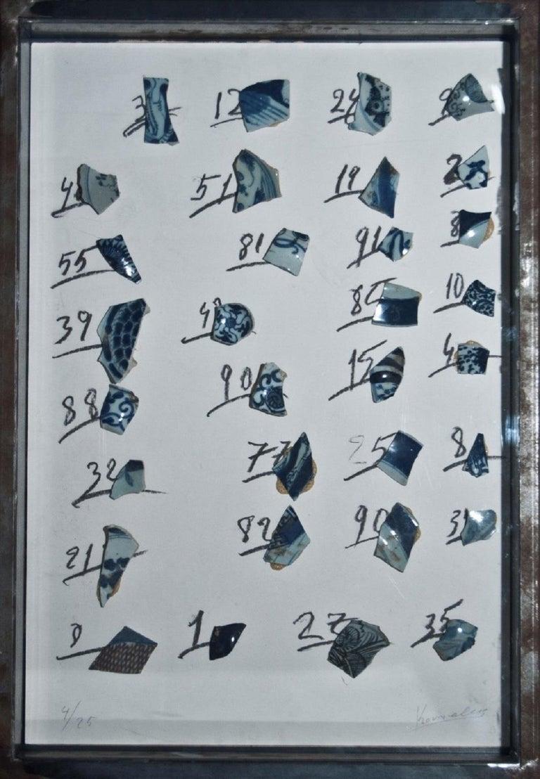 Jannis Kounellis Abstract Painting - Untitled