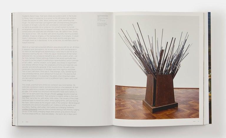 Jannis Kounellis 'Phaidon Contemporary Artists Series' For Sale 1