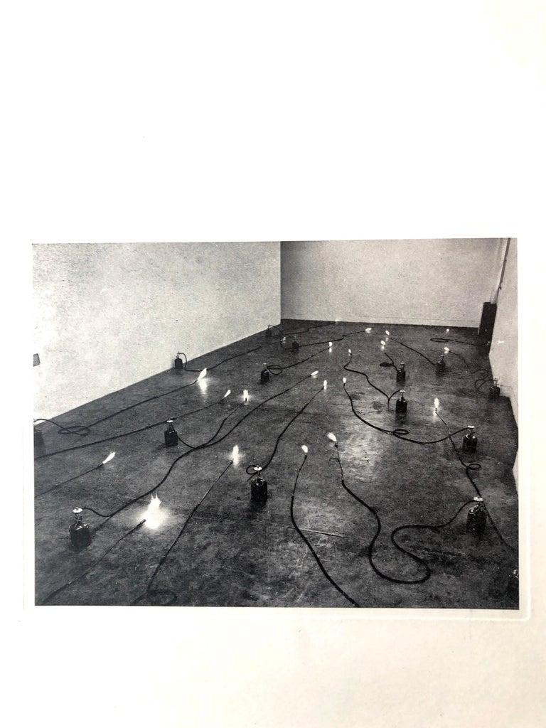 Photo Lithograph Jannis Kounellis Arte Povera Italian Avant Garde Etching For Sale 1