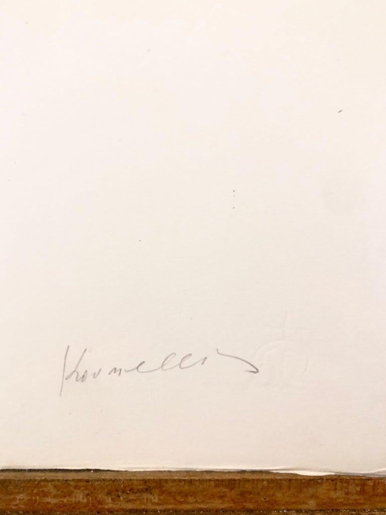 Photo Lithograph Jannis Kounellis Arte Povera Italian Avant Garde Etching For Sale 3