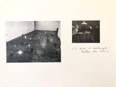 Photo Lithograph Jannis Kounellis Arte Povera Italian Avant Garde Etching