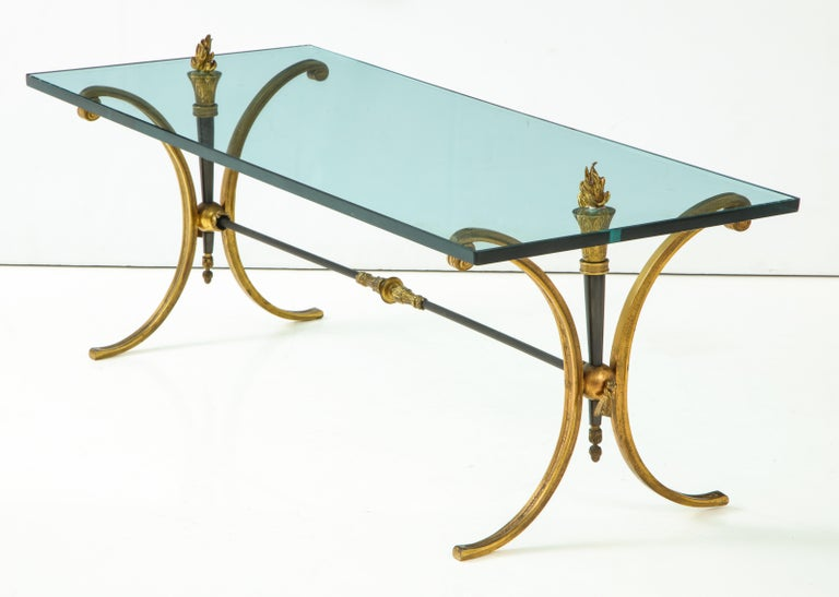 Jansen Empire Style Coffee Table For Sale 7