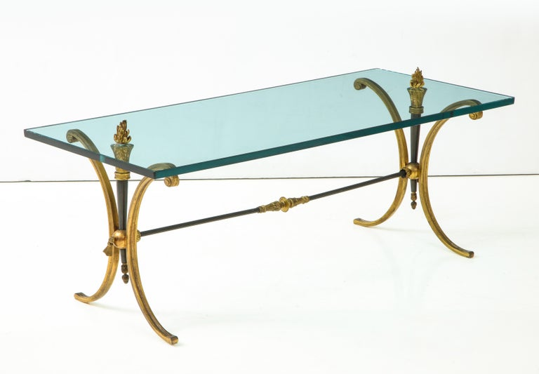 European Jansen Empire Style Coffee Table For Sale