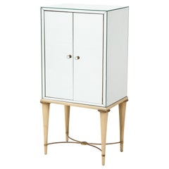 French Mirrored Mirrored  Accessorie Cabinet