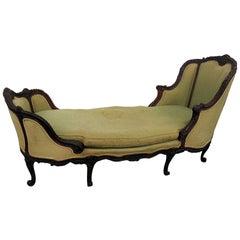 Jansen Paris Regency Style Chaise Lounge