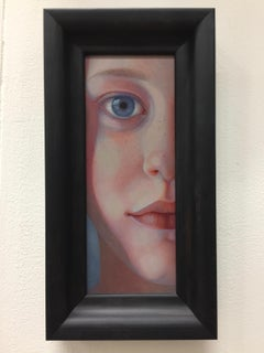 Ilse-21st Century Contemporary Portrait Painting by Jantina Peperkamp