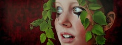 Niobe-21st Century Contemporary Portrait Painting by Dutch Jantina Peperkamp