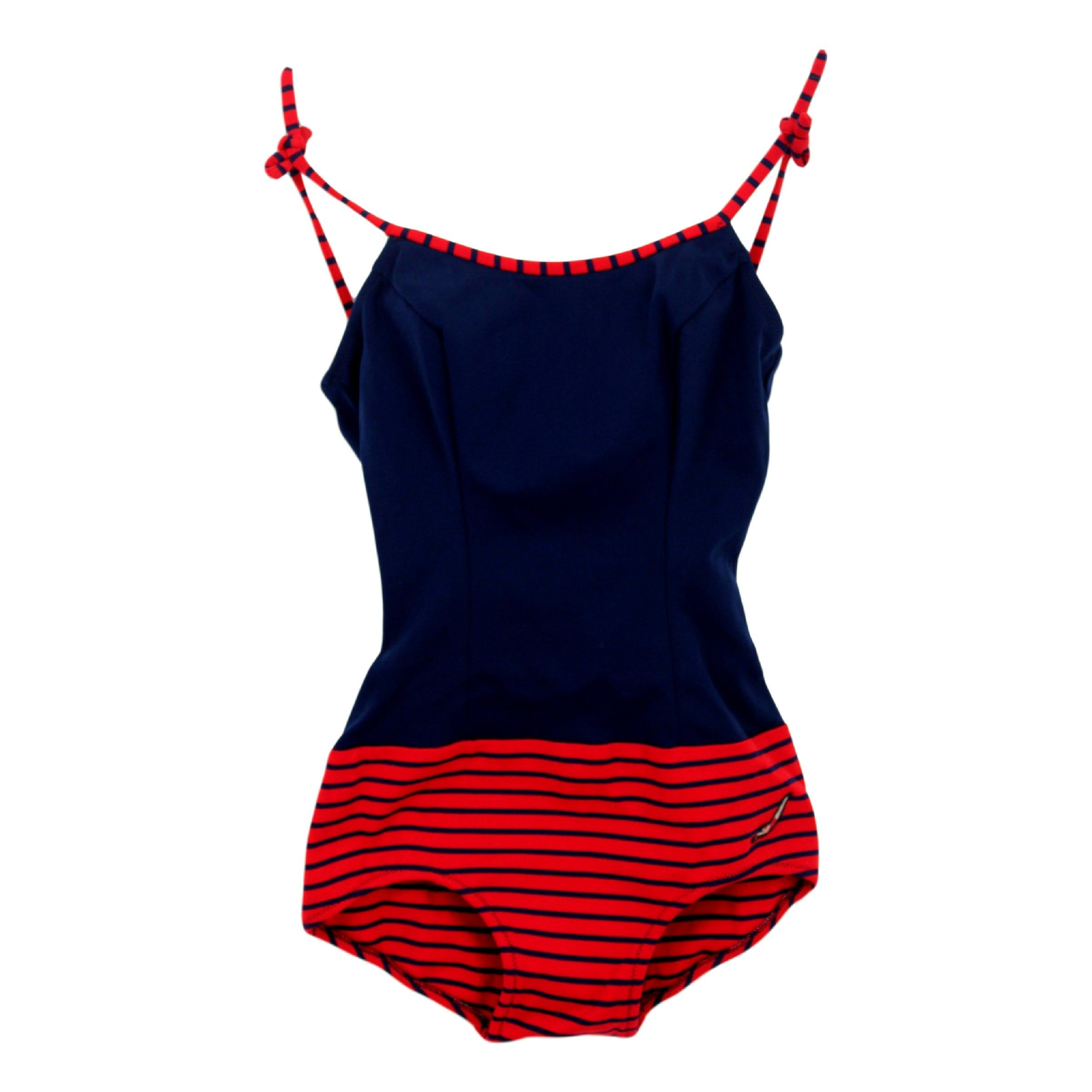 b09dda235b HERMES Swimsuit 2 pieces Bikini Eole Mythiques Phoenix Blue Size 38 For  Sale at 1stdibs