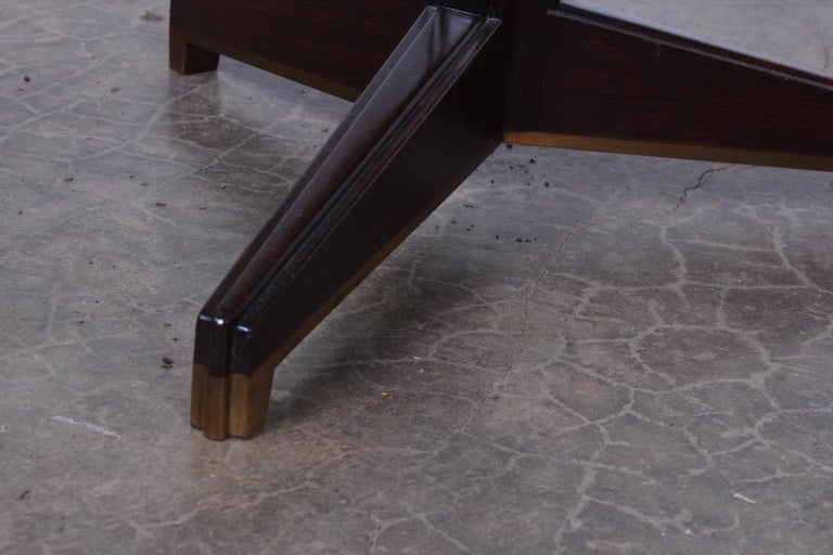 Janus Side Table by Edward Wormley for Dunbar For Sale 6
