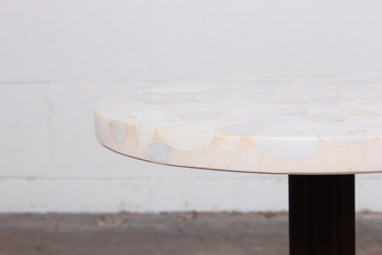 Janus Side Table by Edward Wormley for Dunbar For Sale 7