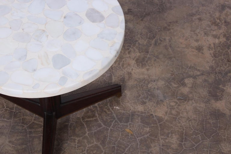 Janus Side Table by Edward Wormley for Dunbar For Sale 2