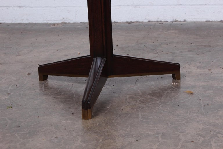 Janus Side Table by Edward Wormley for Dunbar For Sale 5