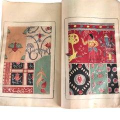 Japan Antique Color Exotic Woodblock Prints Album 19thc, 41 Frameable Prints
