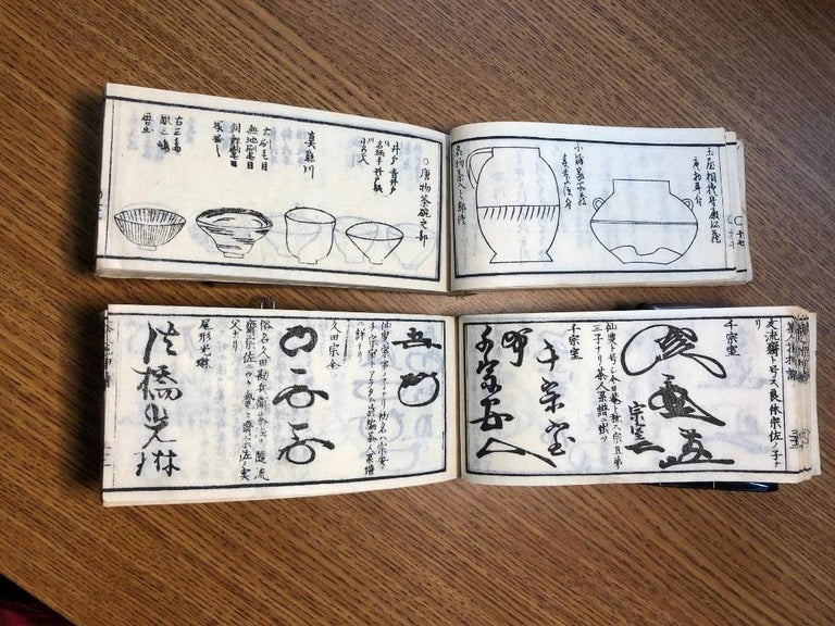 Japan Antique Tea Guides All about Tea and Tea Masters in Old Japan, Rare Books In Good Condition For Sale In Shelburne, VT