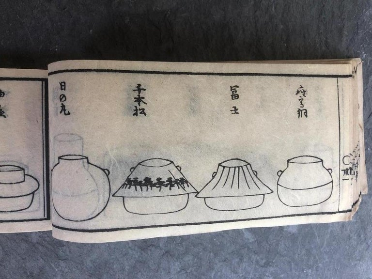 Japan Antique Tea Guides All about Tea and Tea Masters in Old Japan, Rare Books For Sale 4