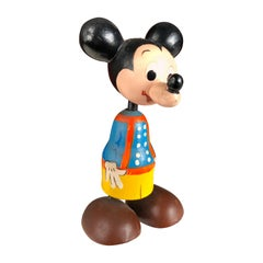 "Japan Authentic Old ""Mickey Mouse"" Disney Kokeshi Doll"