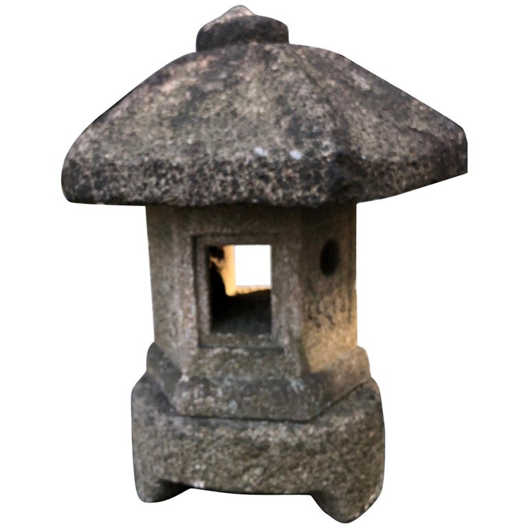 """Japan Early Antique """"Okigata"""" Temple Shrine Lantern, Best in Class, 19th Century For Sale"""