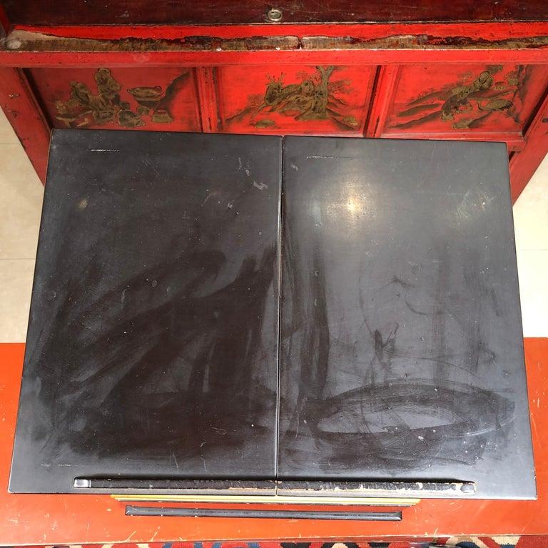 Japan  Antique Lacquer Book Table  For Sale 4