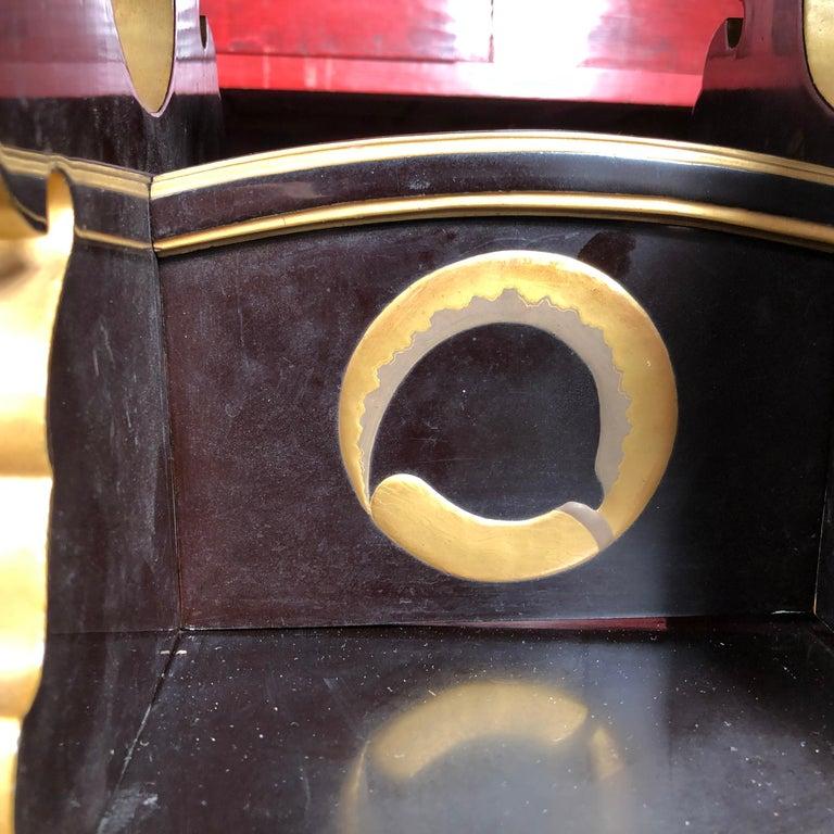 Gilt Japan  Antique Lacquer Book Table  For Sale