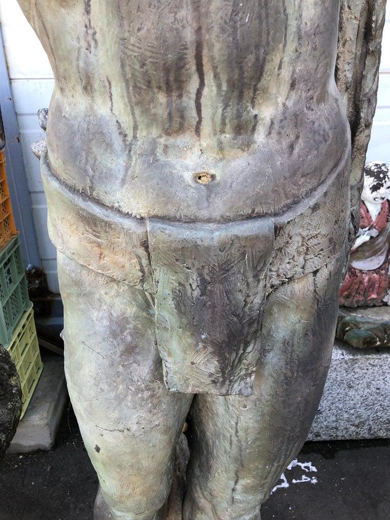 Japanese Japan Important 1961 Life-Size Bronze