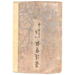 Japan Important Antique Tea Garden Lanterns Woodblock Guide Book, 100 Toro
