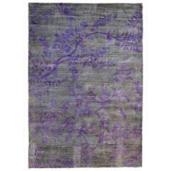 Japan Influence Handwoven Viscose Rug Koban by Deanna Comellini 160x230 cm