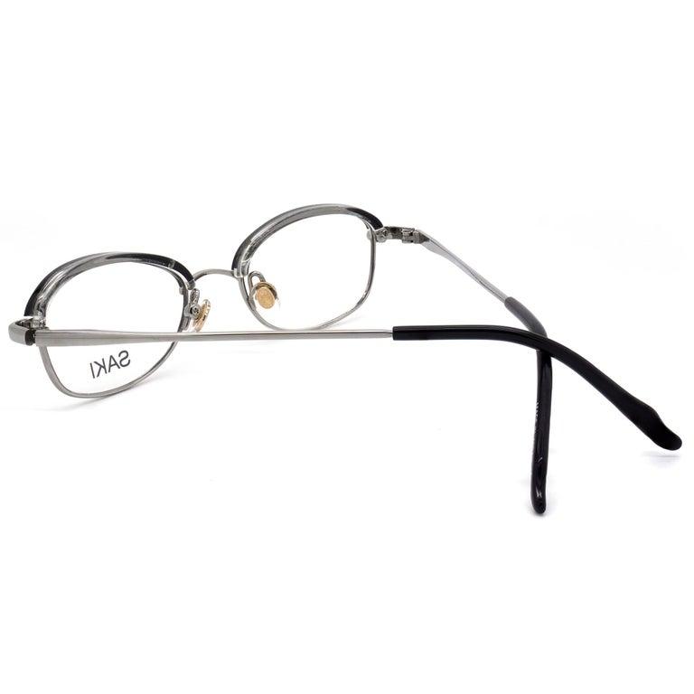 Japan Saki vintage eyeglasses frame In New Condition For Sale In Feasterville Trevose, PA
