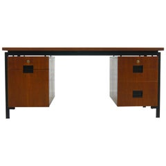 Japan Series Writing Desk EU02 in Teak by Cees Braakman for Pastoe, Netherlands