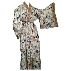 Japan Silk Kimono 1970s