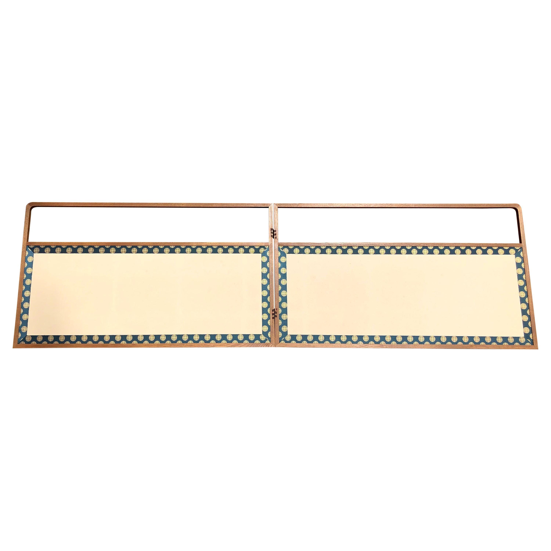 "Japan Small Folding Two-Panel Furosaki Tea Screen ""Contemporary Simplicity"""