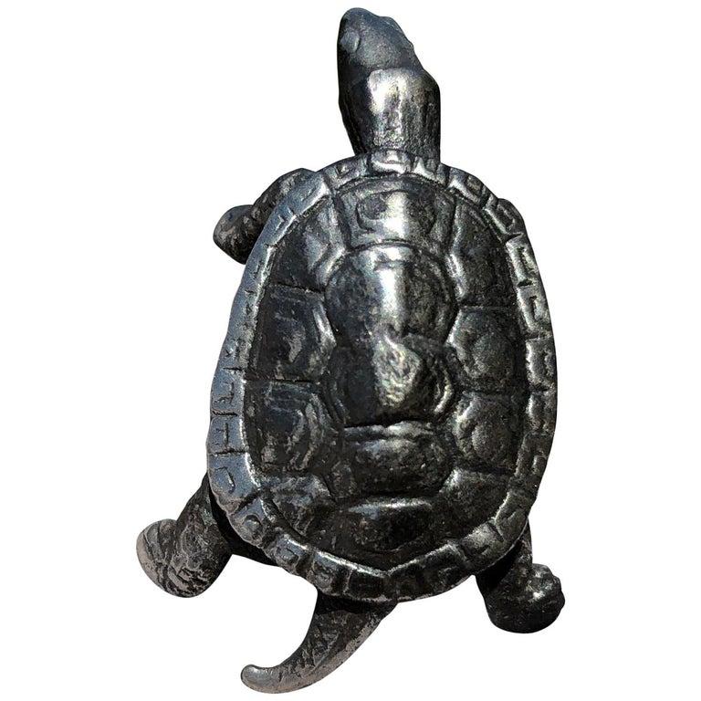 Japan Special Vintage Sterling Silver Turtle