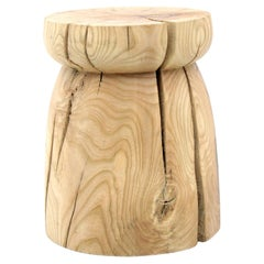Japan Table, Contemporary Wooden Side Table or Stool