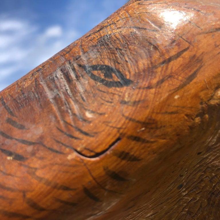 Japan Unique Antique Natural Burl Wood