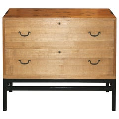 Japanese 2-Drawer Chest on Stand