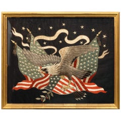 Japanese American Market Eagle and Flag, Late 19th Century