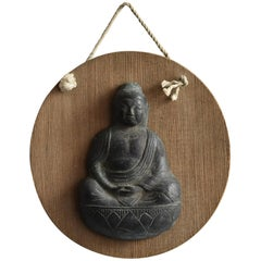 Japanese Antique 17th Century Small Copper Buddha Statue /Wabisabi/Tathagata