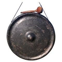 Japanese Antique Huge Bronze Gong