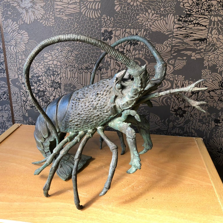 Cast Japanese Antique Bronze Jumbo