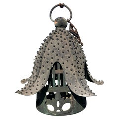 Japanese Antique Bronze Star Fish Lantern