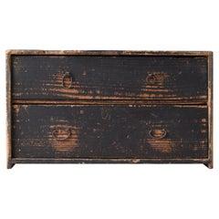 Japanese Antique Commode 1860s-1920s / Furniture Drawer Storage Wabisabi