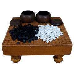 Japanese Antique GO Game Complete Set