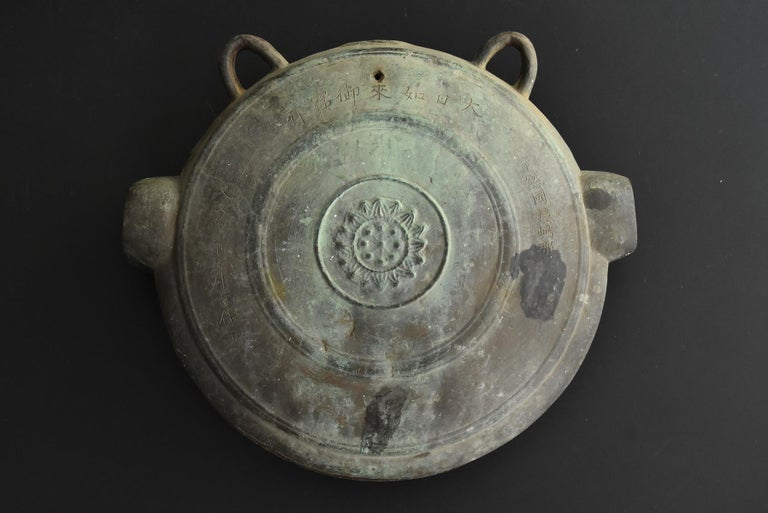 We have an aesthetic sense peculiar to Japanese people. And we introduce the unique items that only we can do, the route of purchasing in Japan, the experience value so far, and the way that no one can imitate.  A cast bell made of bronze from