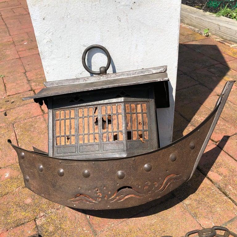 Iron Japanese Antique Lantern
