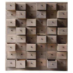 Japanese Antique Medicine Chest 1860s-1900s/Chests of Drawers Storage Tansu