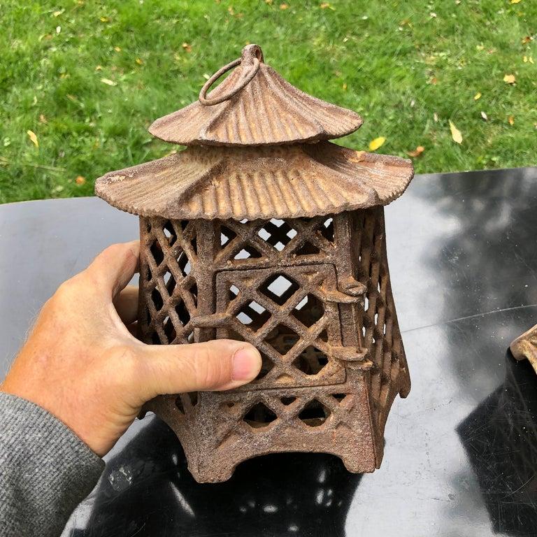 Japanese Antique Pair Lanterns